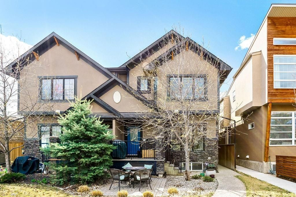 Main Photo: 1 4711 17 Avenue NW in Calgary: Montgomery Row/Townhouse for sale : MLS®# A1135461