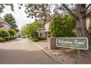 """Photo 1: 10 4855 57 Street in Delta: Hawthorne Townhouse for sale in """"WILLOW LANE"""" (Ladner)  : MLS®# R2395167"""