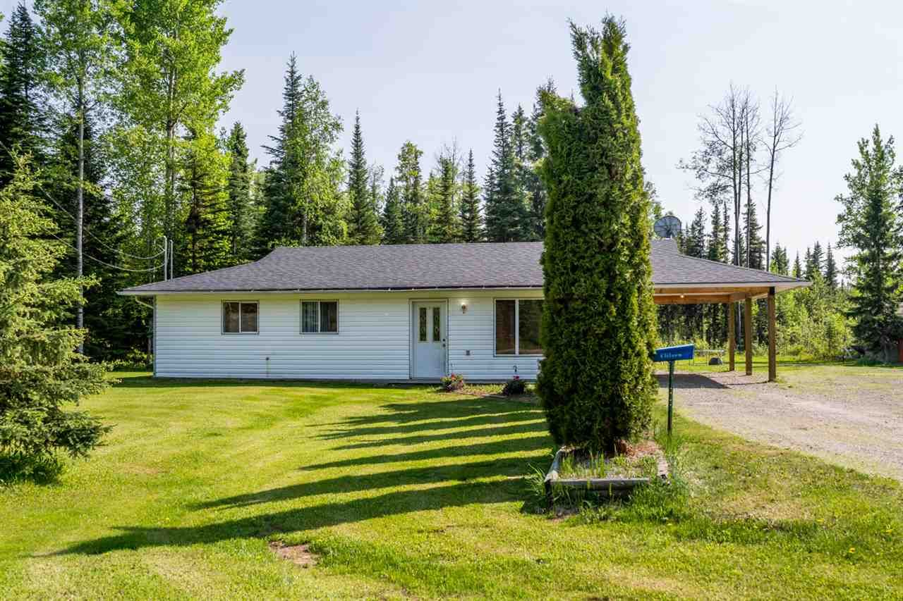 Main Photo: 14100 HUBERT Road in Prince George: Hobby Ranches House for sale (PG Rural North (Zone 76))  : MLS®# R2374014