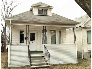 Photo 1: 709 Nassau Street South in WINNIPEG: Manitoba Other Residential for sale : MLS®# 1325024