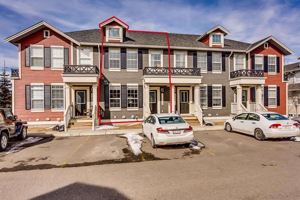 Main Photo: 1603 1001 8 Street NW: Airdrie Row/Townhouse for sale : MLS®# A1014207