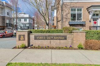 "Photo 1: 52 15833 26 Avenue in Surrey: Grandview Surrey Townhouse for sale in ""THE BROWNSTONES"" (South Surrey White Rock)  : MLS®# R2558277"