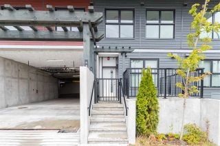 """Photo 1: 103 217 CLARKSON Street in New Westminster: Downtown NW Townhouse for sale in """"Irving Living"""" : MLS®# R2545766"""