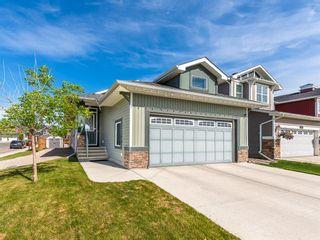Photo 1: 110 Auburn Springs Boulevard SE in Calgary: Auburn Bay Detached for sale : MLS®# A1075702