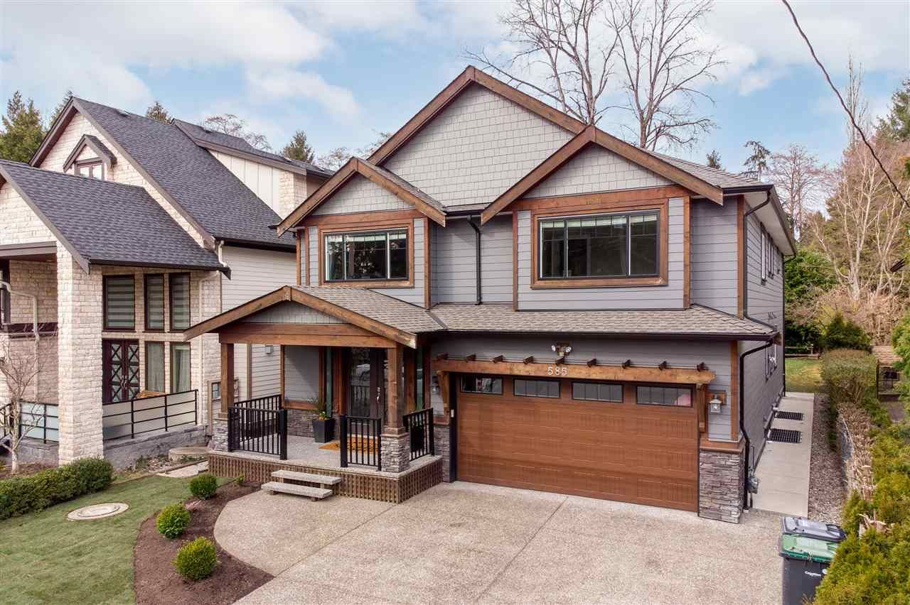 Main Photo: 585 CHAPMAN AVENUE in Coquitlam: Coquitlam West House for sale : MLS®# R2547535