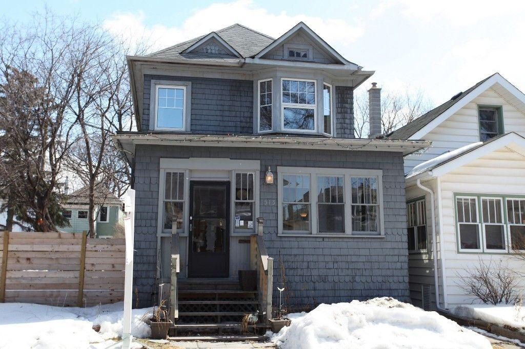 Photo 1: Photos: 513 Newman Street in Winnipeg: Wolseley Single Family Detached for sale (West Winnipeg)  : MLS®# 1307090