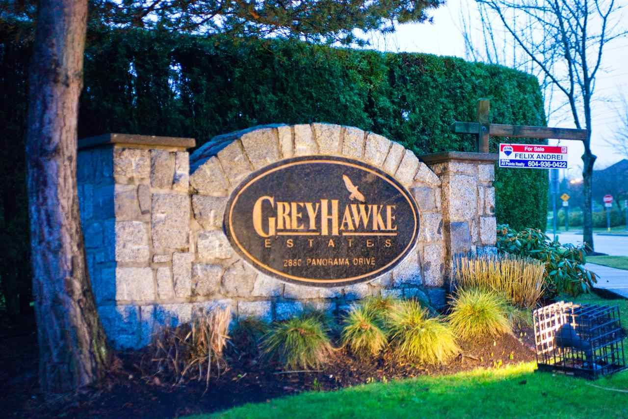 """Main Photo: 126 2880 PANORAMA Drive in Coquitlam: Westwood Plateau Townhouse for sale in """"GREYHAWKE ESTATES"""" : MLS®# R2566198"""