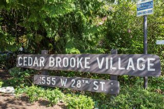 """Photo 31: 802 555 W 28TH Street in North Vancouver: Upper Lonsdale Townhouse for sale in """"CEDARBROOKE VILLAGE"""" : MLS®# R2579091"""