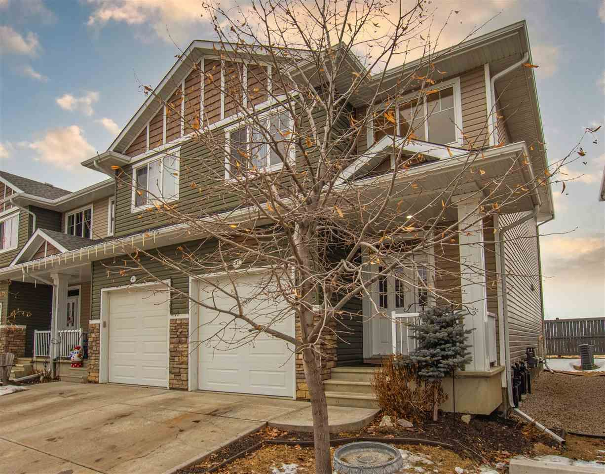 Main Photo: 42 18230 104A Street in Edmonton: Zone 27 Townhouse for sale : MLS®# E4225888