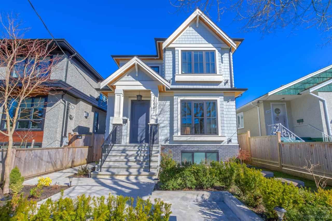 Main Photo: 4606 WINDSOR STREET in Vancouver: Fraser VE House for sale (Vancouver East)  : MLS®# R2553339
