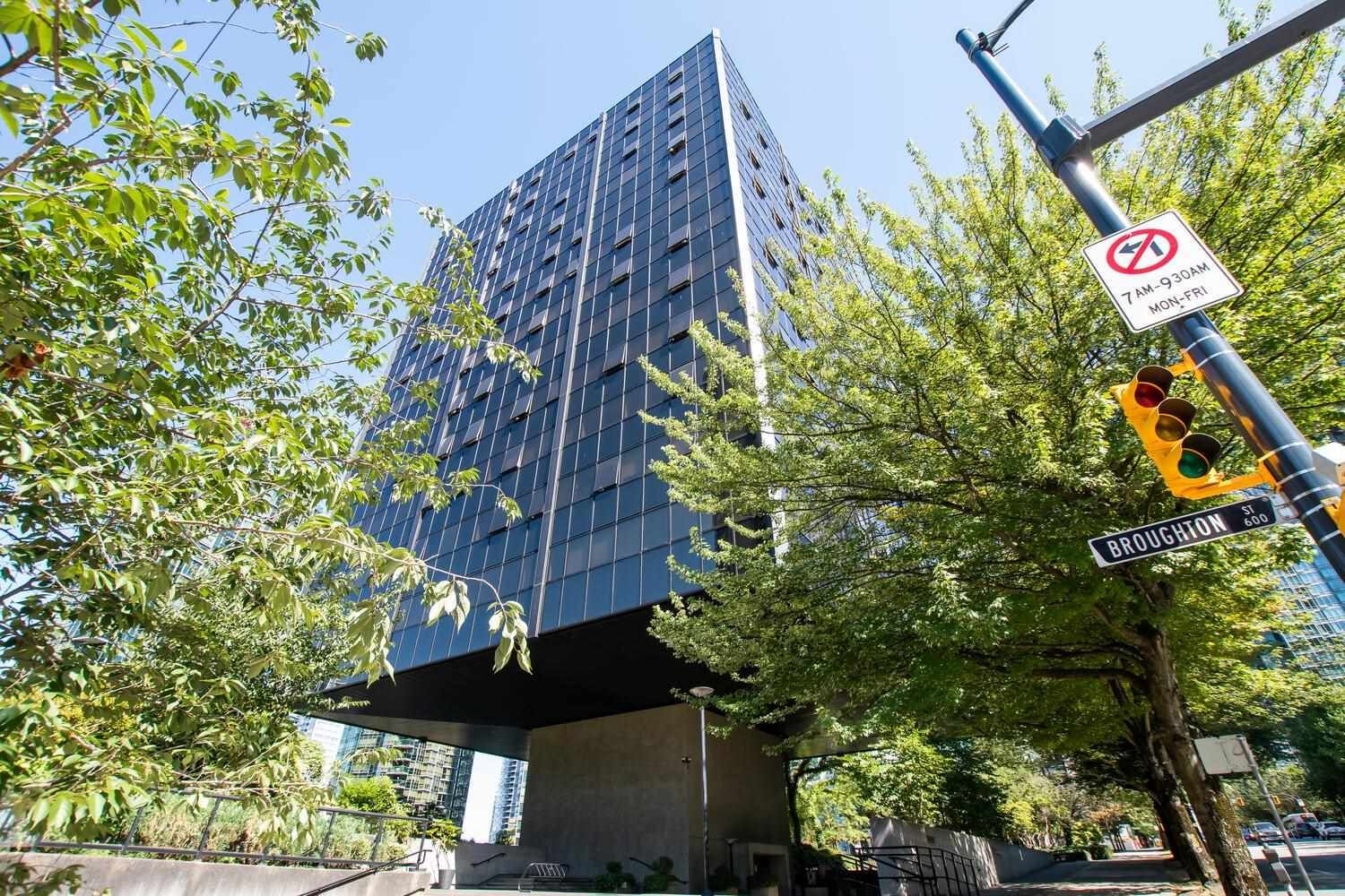 Main Photo: 1109 1333 W GEORGIA Street in Vancouver: Coal Harbour Condo for sale (Vancouver West)  : MLS®# R2603631