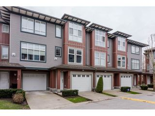"""Photo 1: 96 18777 68A Avenue in Surrey: Clayton Townhouse for sale in """"COMPASS"""" (Cloverdale)  : MLS®# R2152411"""