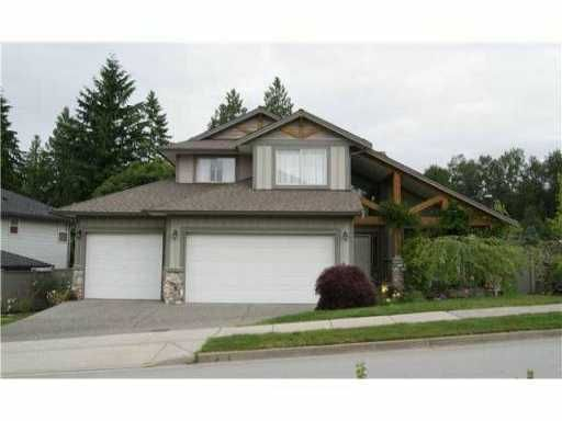 """Main Photo: 24797 MCCLURE Drive in Maple Ridge: Albion House for sale in """"THE UPLANDS AT MAPLE CREST"""" : MLS®# V982609"""