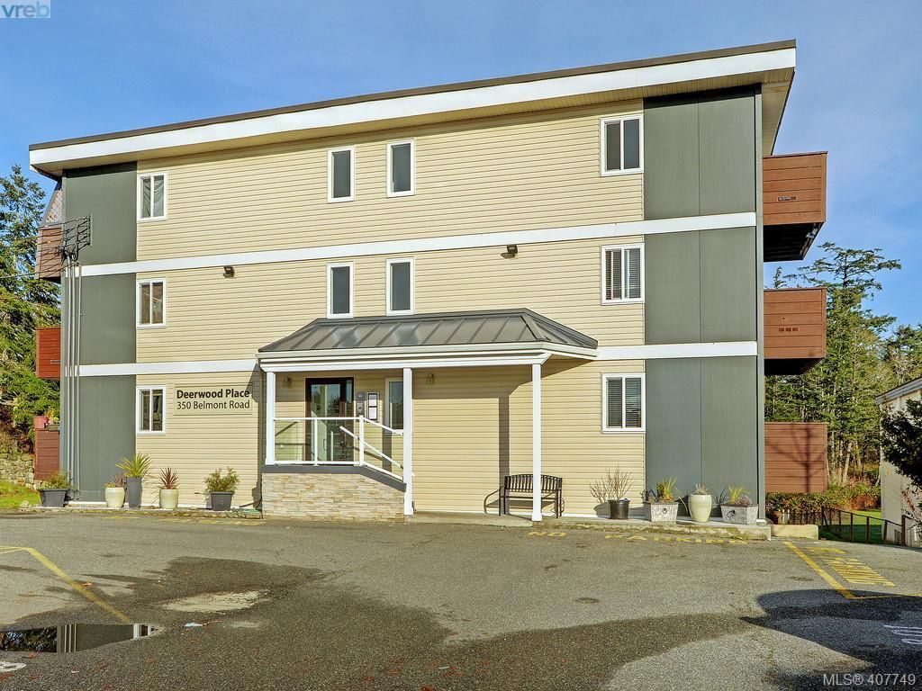 Main Photo: 406 350 Belmont Rd in VICTORIA: Co Colwood Corners Condo for sale (Colwood)  : MLS®# 810348