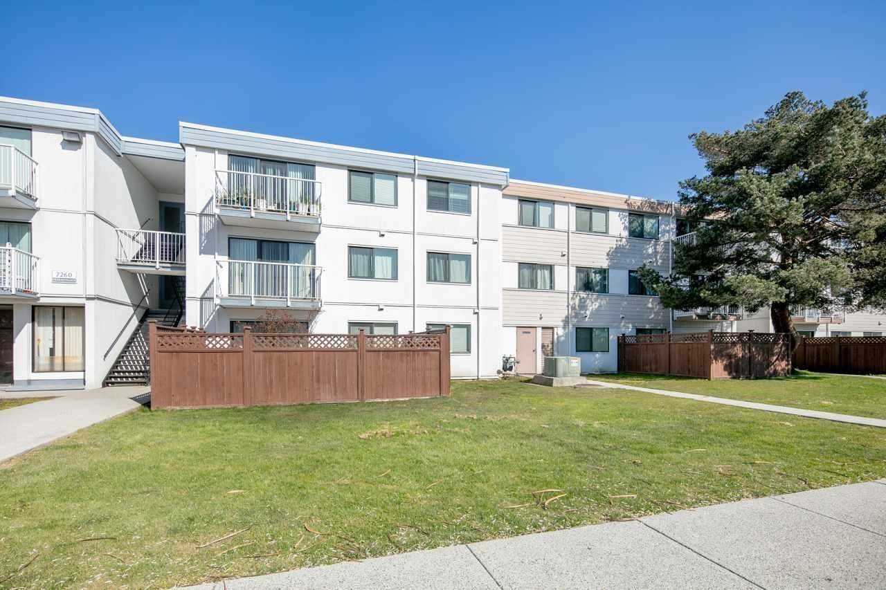 Main Photo: 111 7180 LINDSAY Road in Richmond: Granville Condo for sale : MLS®# R2528529