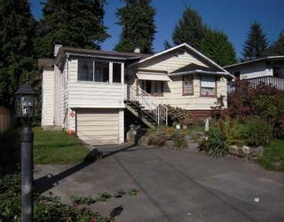 Photo 1: 1654 ROSS RD in North Vancouver: House for sale : MLS®# V733802