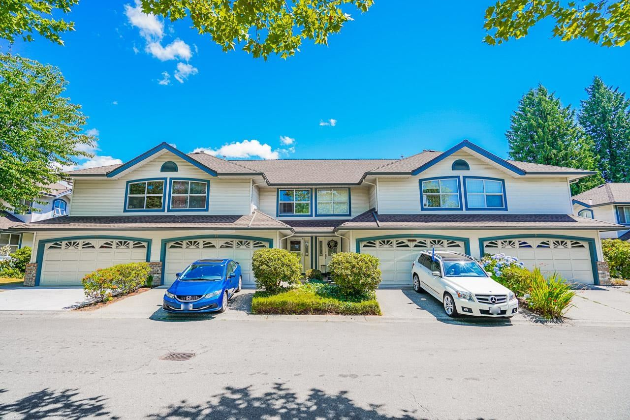 """Main Photo: 10 7250 122 Street in Surrey: East Newton Townhouse for sale in """"STRAWBERRY HILL"""" : MLS®# R2622818"""