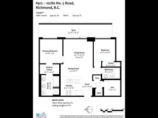 Photo 20: 912 10780 NO. 5 Road in Richmond: Ironwood Condo for sale : MLS®# R2592199