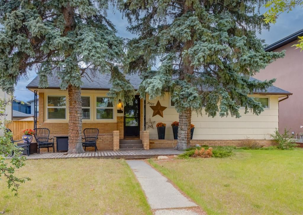 Main Photo: 3507 Spruce Drive SW in Calgary: Spruce Cliff Detached for sale : MLS®# A1117152