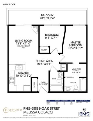 """Photo 26: PH5 3089 OAK Street in Vancouver: Fairview VW Condo for sale in """"The Oaks"""" (Vancouver West)  : MLS®# R2624819"""