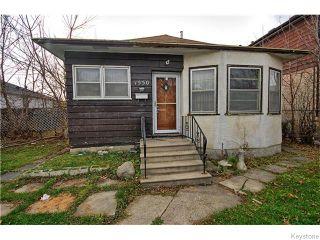 Photo 1: 1550 Ross Avenue West in WINNIPEG: Brooklands / Weston Residential for sale (West Winnipeg)  : MLS®# 1529899