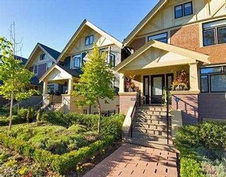 """Photo 1: 1423 W 11TH Avenue in Vancouver: Fairview VW Townhouse for sale in """"1425 W 11TH"""" (Vancouver West)  : MLS®# V667630"""