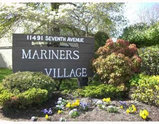 """Photo 1: 2 11491 7TH Ave in Richmond: Steveston Village Townhouse for sale in """"MARINERS VILLAGE"""" : MLS®# V647222"""