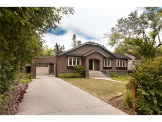 Photo 1: 1417 PROSPECT Avenue SW in Calgary: Upper Mount Royal House for sale : MLS®# C4070351