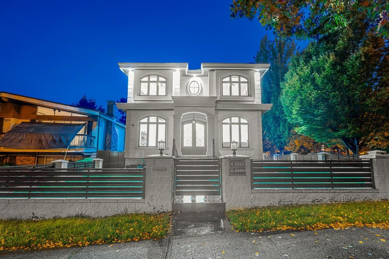 Main Photo: 2422 ANCASTER Crescent in Vancouver: Fraserview VE House for sale (Vancouver East)  : MLS®# R2618335