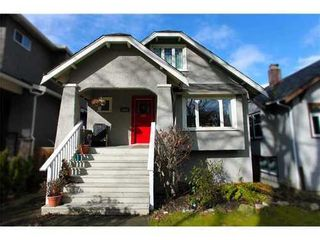 Photo 1: 3465 20TH Ave W in Vancouver West: Dunbar Home for sale ()  : MLS®# V873952