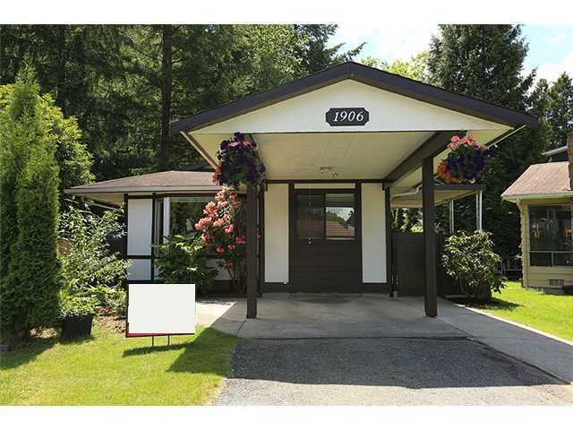Main Photo: 1906 LODGE PL in Coquitlam: River Springs House for sale : MLS®# V1010766