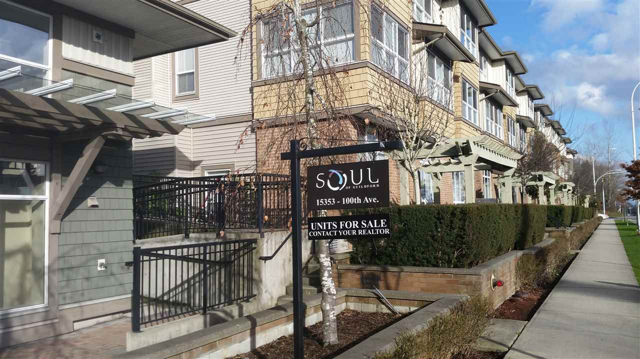 "Main Photo: 11 15353 100 Avenue in Surrey: Guildford Townhouse for sale in ""The Soul of Guildford"" (North Surrey)  : MLS®# R2036519"