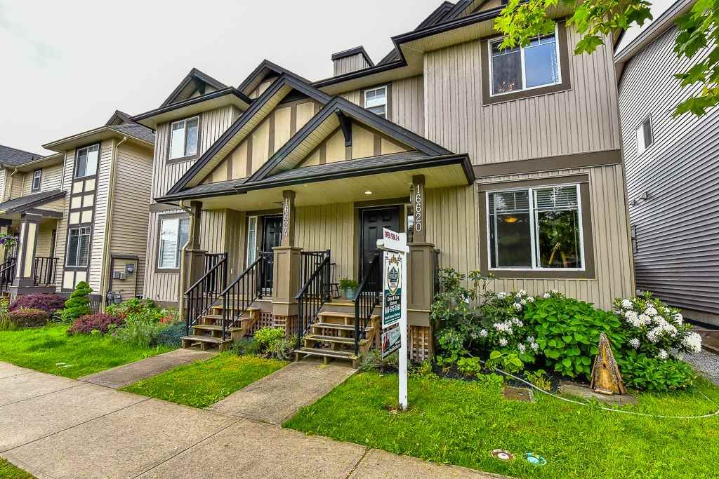Main Photo: 16620 60TH Avenue in Surrey: Cloverdale BC 1/2 Duplex for sale (Cloverdale)  : MLS®# R2063363