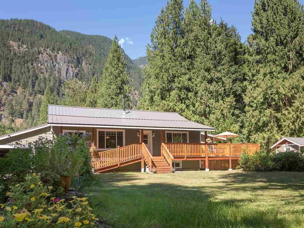 Main Photo: 14848 SQUAMISH VALLEY ROAD in Squamish: Upper Squamish House for sale : MLS®# R2193878