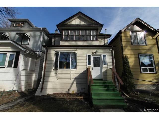 Main Photo: 757 Ashburn Street in WINNIPEG: West End / Wolseley Residential for sale (West Winnipeg)  : MLS®# 1504084