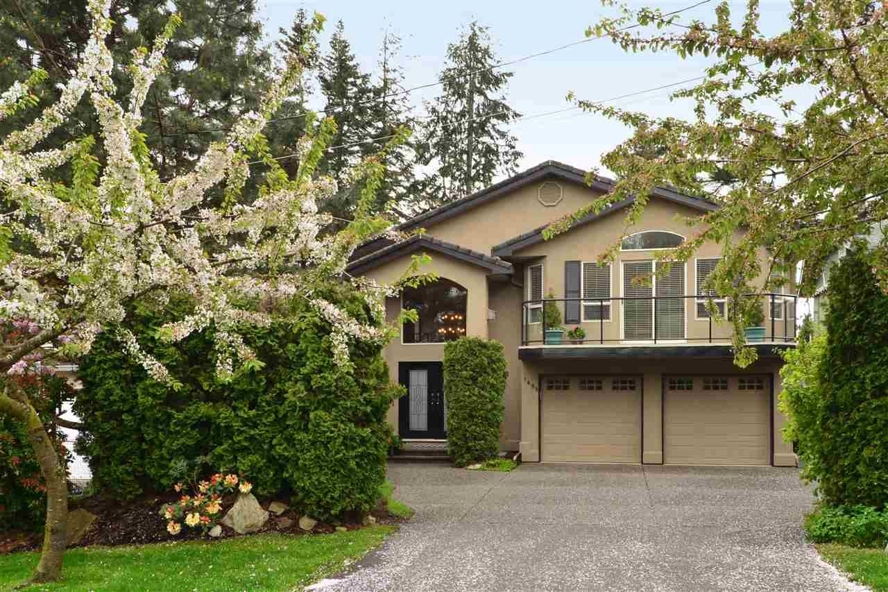 "Main Photo: 1499 PHOENIX Street: White Rock House for sale in ""West White Rock"" (South Surrey White Rock)  : MLS®# R2163364"