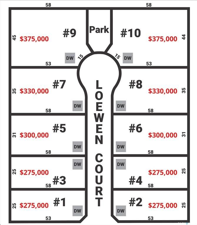 Main Photo: 4 LOEWEN Court in Warman: Lot/Land for sale : MLS®# SK866306