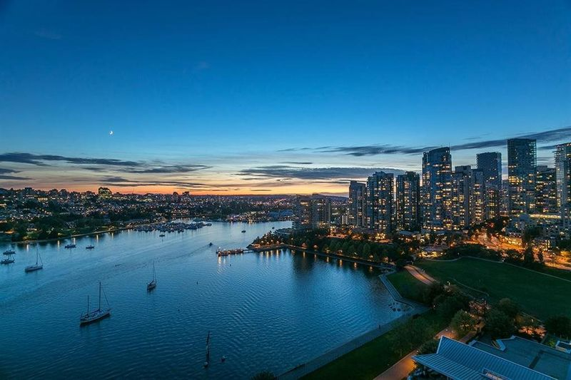 FEATURED LISTING: 2201 - 1328 MARINASIDE Crescent Vancouver