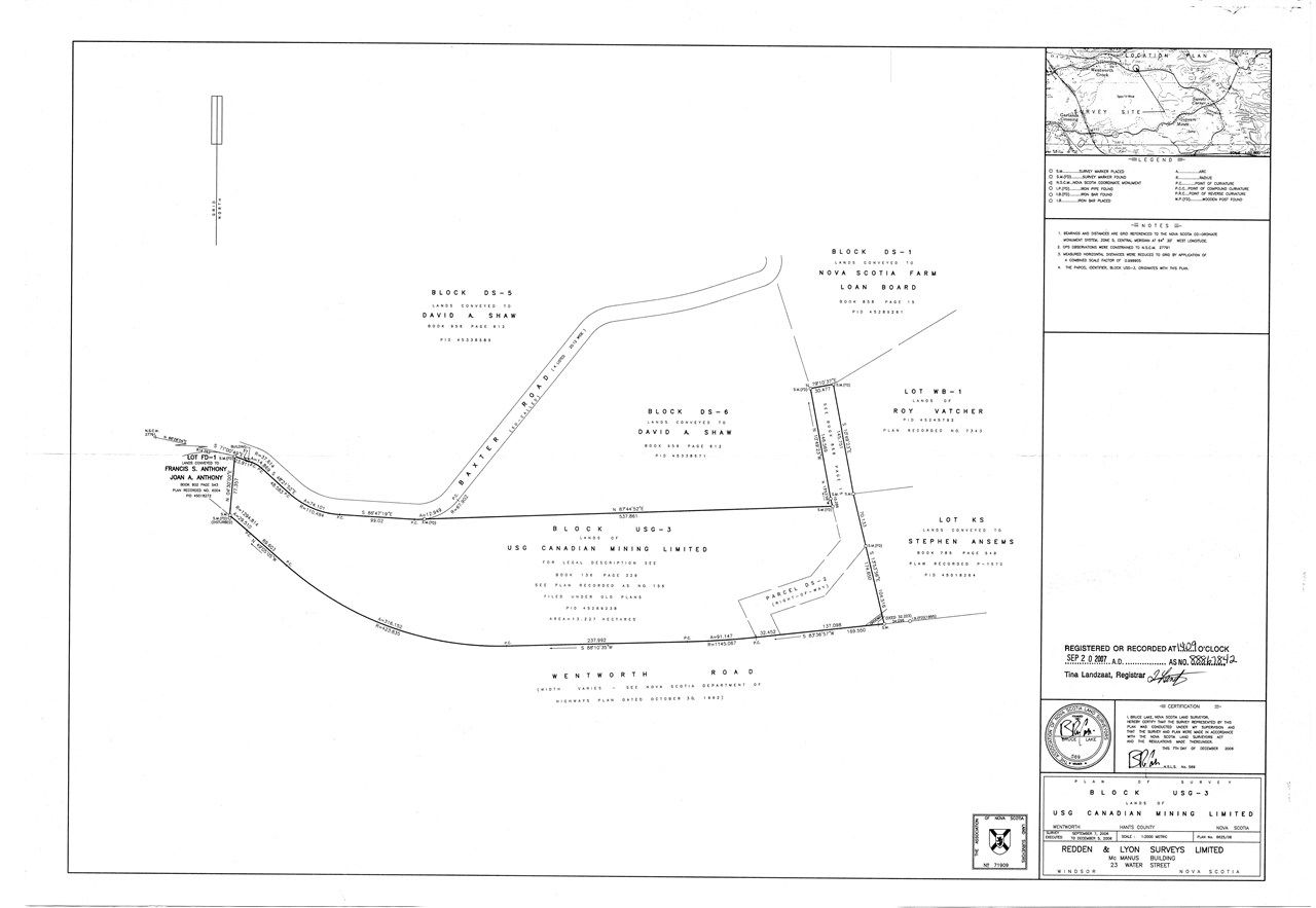 Photo 4: Photos: Lot USG-3 Wentworth Road in Wentworth Creek: 403-Hants County Vacant Land for sale (Annapolis Valley)  : MLS®# 202107787
