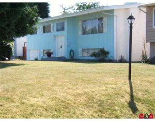 Photo 1: 11093 JAY CR in Surrey: Bolivar Heights House for sale (North Surrey)  : MLS®# F2618412