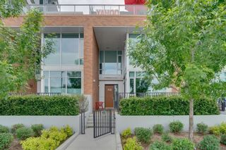 Photo 39: 113 Confluence Mews SE in Calgary: Downtown East Village Row/Townhouse for sale : MLS®# A1138938