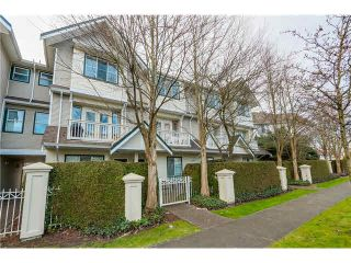 "Photo 1: 49 4933 FISHER Drive in Richmond: West Cambie Townhouse for sale in ""FISHER GARDENS"" : MLS®# V1106882"