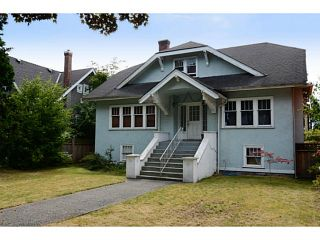 Photo 1: 2386 W 15TH Avenue in Vancouver: Kitsilano House for sale (Vancouver West)  : MLS®# V1078805