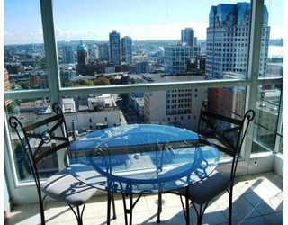"""Photo 3: 2209 438 SEYMOUR Street in Vancouver: Downtown VW Condo for sale in """"CONFERENCE PLAZA"""" (Vancouver West)  : MLS®# V669096"""