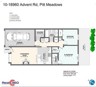 """Photo 27: 10 18960 ADVENT Road in Pitt Meadows: Central Meadows Townhouse for sale in """"MEADOWLAND VILLAGE"""" : MLS®# R2545154"""