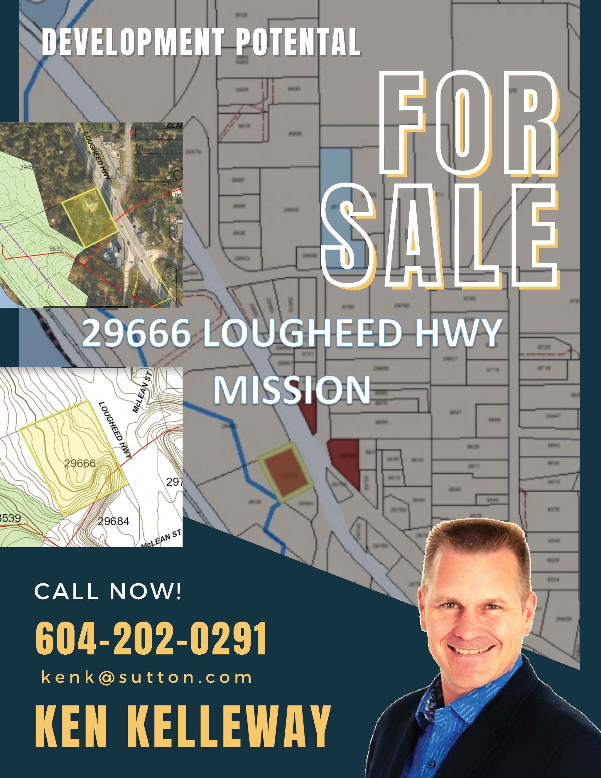 Main Photo: 29666 Lougheed hwy Highway in Silverdale: Commercial for sale (Mission)