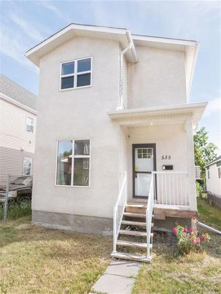 Photo 1: 535 Pritchard Avenue in Winnipeg: North End Residential for sale (4A)  : MLS®# 202118464