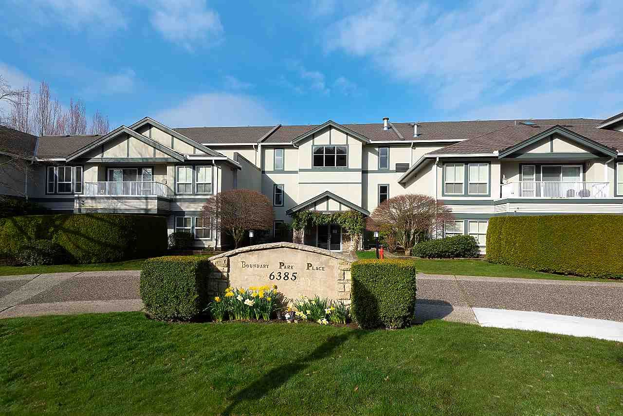 "Main Photo: 306 6385 121 Street in Surrey: Panorama Ridge Condo for sale in ""Boundary Park Pl."" : MLS®# R2554000"