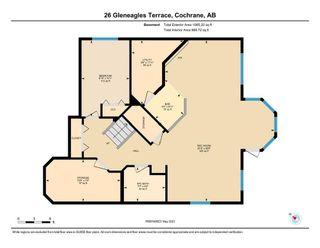 Photo 35: 26 Gleneagles Terrace: Cochrane Detached for sale : MLS®# A1130075