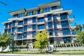 """Photo 1: 102 488 W 58TH Avenue in Vancouver: South Cambie Condo for sale in """"PARK HOUSE"""" (Vancouver West)  : MLS®# R2591785"""